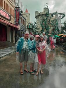 No rain can stop us!