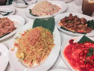 So much rice because Filipinos!